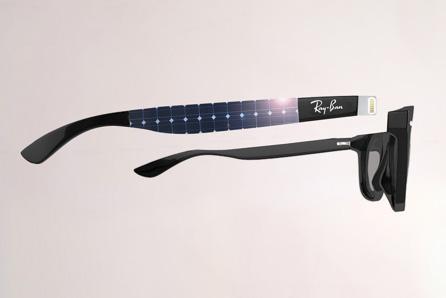 با عینک آفتابی گوشی آی فون خود را شارژ کنید